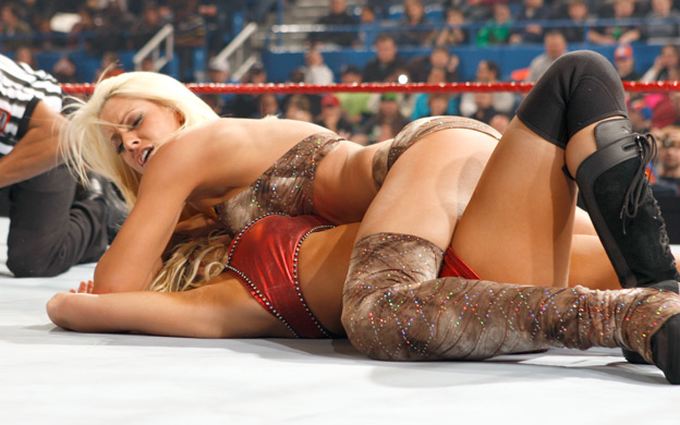 These women are called as the WWE Divas. They are not less than any super